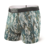"SAXX Quest 5"" Boxer Brief Fly Men's Bark Camo"