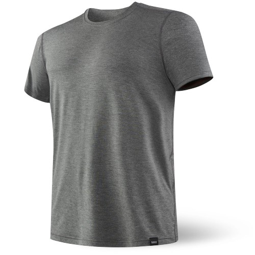 SAXX Sleepwalker Top S/S Men's Charcoal Heather
