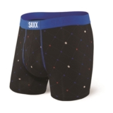 "SAXX Ultra 5"" Boxer Brief Fly Men's Black Diamond Check"