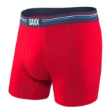 "SAXX Ultra 5"" Boxer Brief Fly Men's Red"