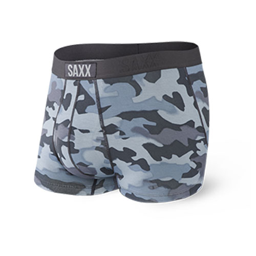 SAXX Ultra Trunk Fly Men's Graphite Stencil Camo