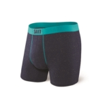 "SAXX Vibe 5"" Boxer Brief Men's Navy Confetti"