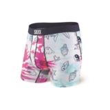 "SAXX Vibe 5"" Boxer Brief Men's Multi High Tie Dye"