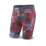 "SAXX Vibe 9"" Boxer Brief Men's Lt Blue Supersize Camo"