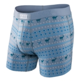SAXX Vibe Boxer Modern Fit Men's Frost/Teal