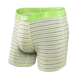 SAXX Vibe Boxer Modern Fit Men's Heather/Zest Stripe