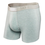 SAXX Vibe Boxer Modern Fit Men's Heather/Ice Stripe