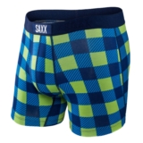 SAXX Vibe Boxer Modern Fit Men's Weekend Plaid
