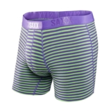 SAXX Vibe Boxer Modern Fit Men's Zest/Grape Stripe
