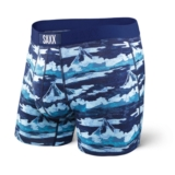 SAXX Vibe Boxer Modern Fit Men's Bright Navy MT Fuji