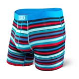 SAXX Vibe Boxer Modern Fit Men's Electric/Bright Stripe