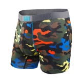 SAXX Vibe Boxer Men's Bright Camo