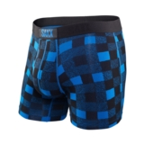 SAXX Vibe Boxer Men's Royal Lumberjack Plaid