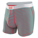 SAXX Vibe Boxer Men's Red Hot Heather