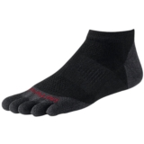 SW PhD Toe Sock Micro Sock Unisex Black