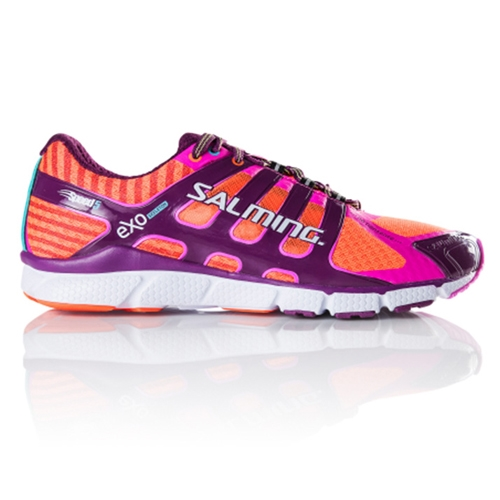 Salming Speed 5 Women's Shocking Orange/Orchid - Salming Style # 1287023 S17