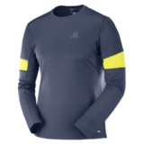 Salomon Agile LS Tee Men's Men's Night Sky