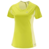 Salomon Agile SS Tee Women's Sulphur Spring/Yellow
