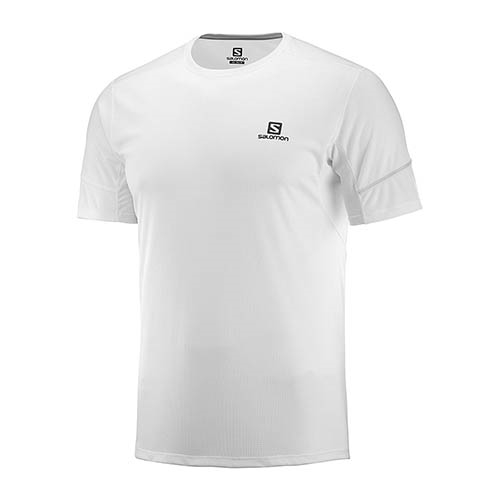 Salomon Agile SS Tee Men's White