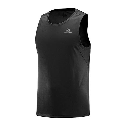 Salomon Agile Tank Men's Black