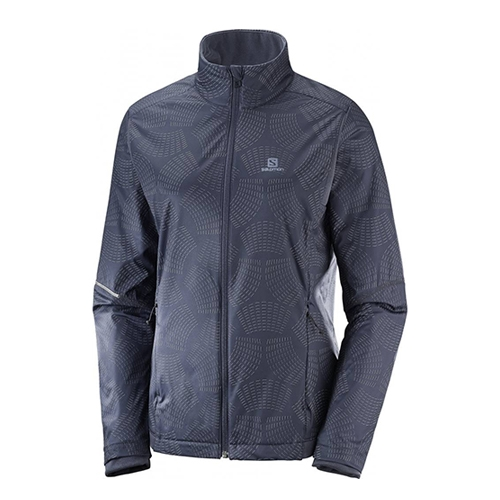 Salomon Agile Warm Jacket Women's Graphite