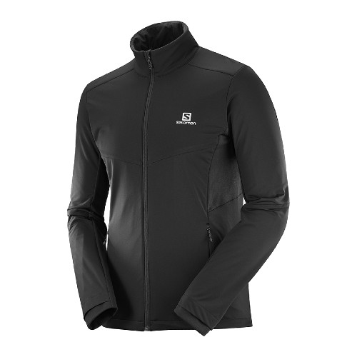 Salomon Agile Warm Jacket Men's Black