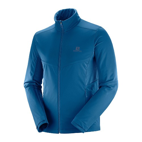 Salomon Agile Warm Jacket Men's Poseidon