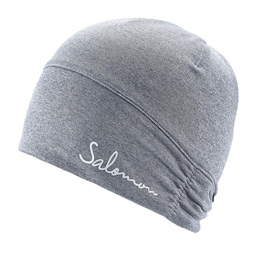 Salomon Elevate Warm Beanie Unisex Alloy Heather