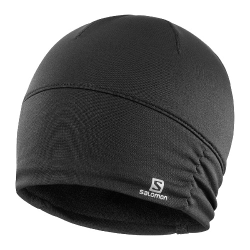 Salomon Elevate Warm Beanie Women's Black/Heather