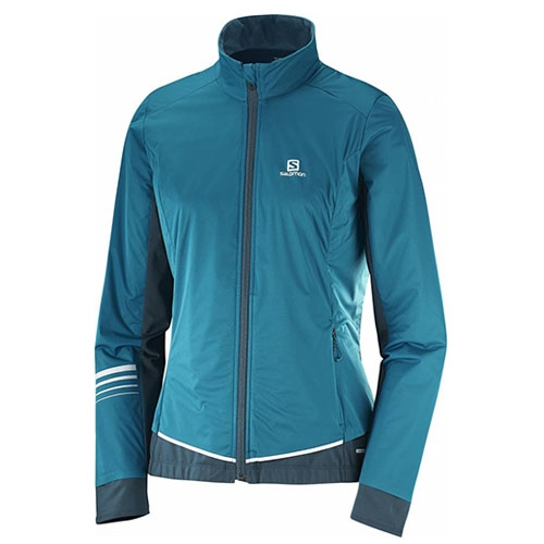 Salomon Lightning Lightshell Women's Deep Lagoon