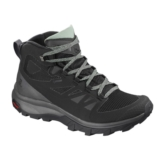 Salomon Outline Mid GTX Women's Black /Magnet/ Green