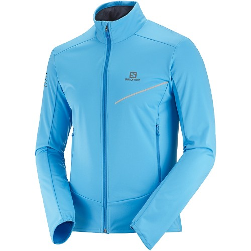 Salomon RS Softshell Jacket Men's Blithe/Indigo/Bunting