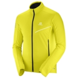 Salomon RS Softshell Jkt Men's Sulphur Spring/Night Sky