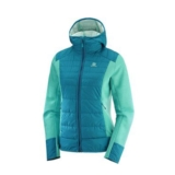 Salomon Right Nice Hybrid Hood Women's Waterfall/ Deep Lagoon