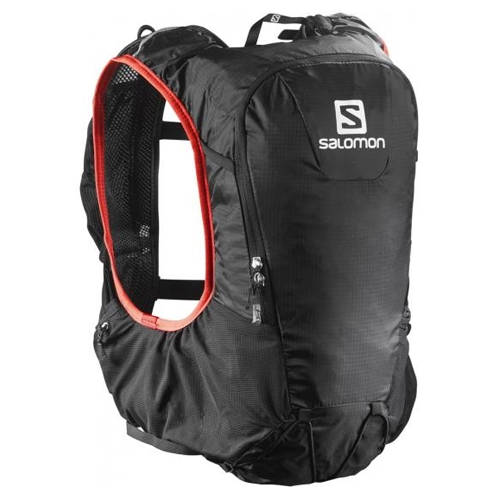 Salomon Skin Pro 10 Set Unisex Black/Bright Red