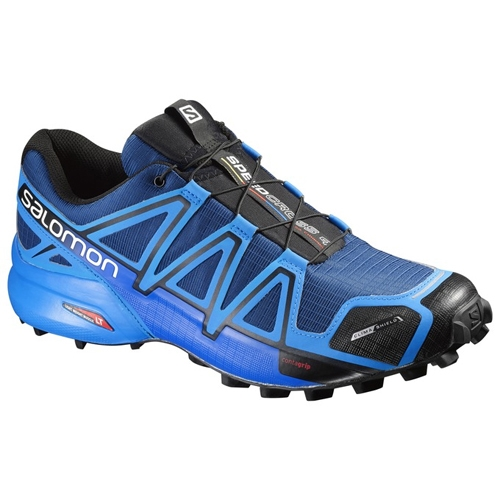 Salomon SpeedCross 4 CS Men's Blue Depth/Bright Blue