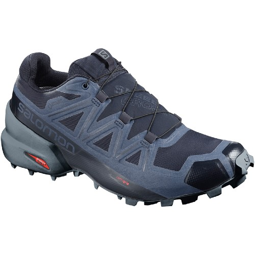 Salomon Speedcross 5 GTX Men's Navy Blazer / Stormy - Salomon Style # L40796300 F20