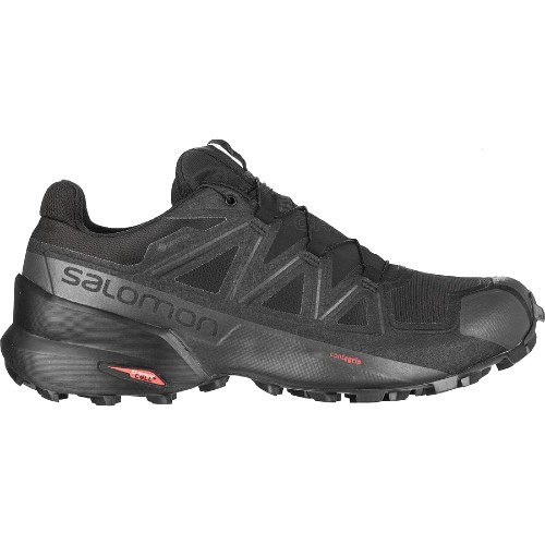 Salomon Speedcross 5 GTX Men's Black/Black/Phantom - Salomon Style # L4079530032 F20