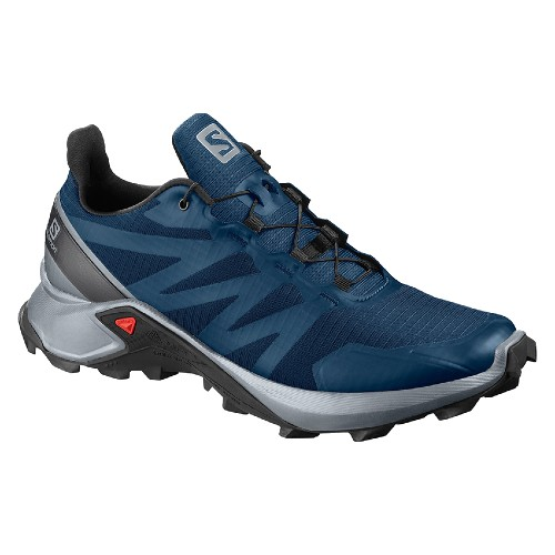 Salomon Supercross Men's Poseidon/Pearl Blue