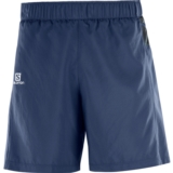 "Salomon Trail Runner Short 7"" Men's Dress Blue"