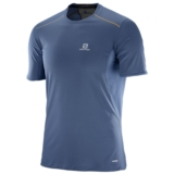 Salomon Trail Runner Tee Men's Vintage Indigo/Black
