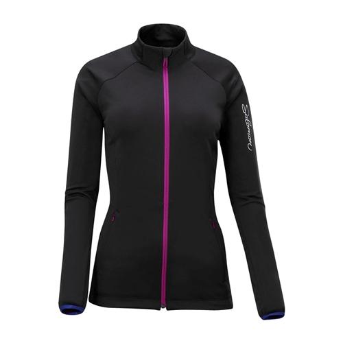 16544ffbec3d Salomon XT II Softshell Jacket Women s Black Fancy Pink - Salomon Style    309111 F12