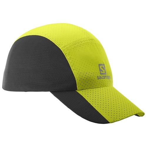 3f259945546ae Salomon Xt Compact Cap Unisex Lime Punch  Black - Salomon Style   393072 S17