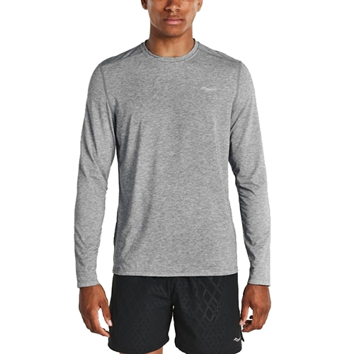 Saucony Freedom Long Sleeve Men's Dark Grey Heather