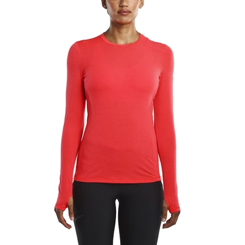 Saucony Freedom Long Sleeve Women's Vizi Red