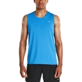 Saucony Freedom Sleeveless Men's Dark Grey Heather