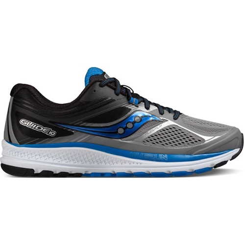 Saucony Guide 10 Men's Grey/Black/Blue