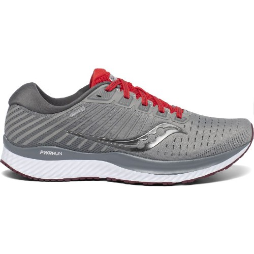 Saucony Guide 13 Men's Alloy / Red