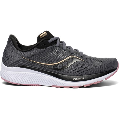 Saucony Guide 14 Women's Charcoal/Rose