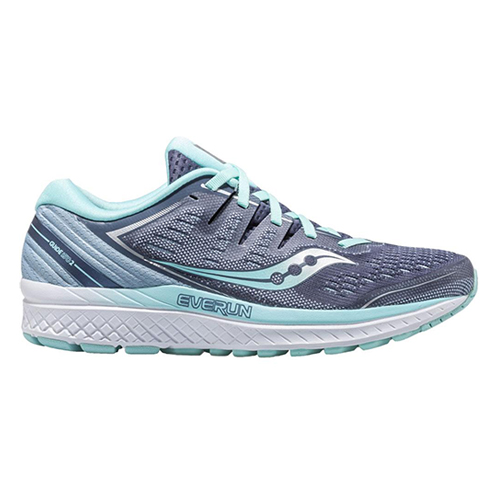 Saucony Guide ISO 2 Women's Slate/Aqua - Saucony Style # S10465-1 F18